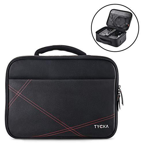 TYCKA Bolsa de Viaje para proyector, tamaño pequeño 36x26x12cm, con Tira para Hombros Ajustable & Divisores de Compartimientos para Acer, Epson, Benq, LG, Sony