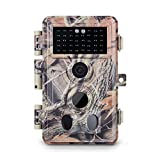 Meidase Trail Camera 16MP 1080P, Game Camera with No Glow Night Vision Up to...