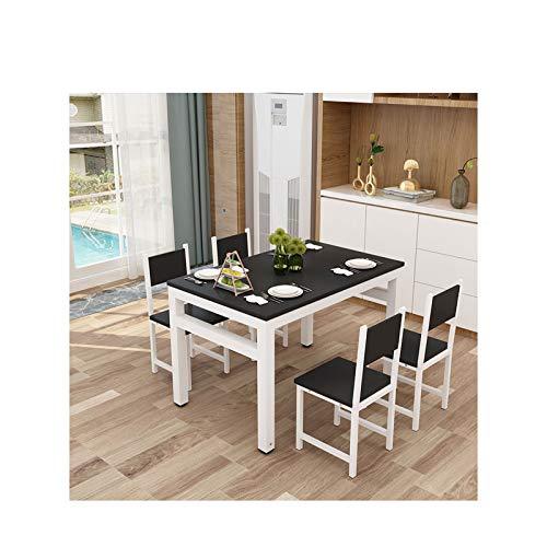 AKKY Conjunto de Comedor,Conjunto Mesa de Pino y 4 sillas,Mesa de Cocina...