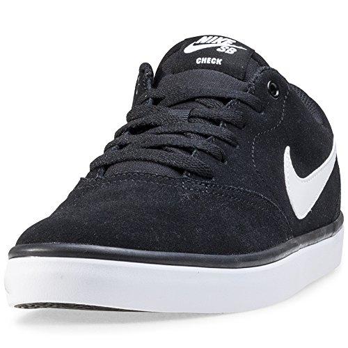 Nike SB Check Solar, Zapatillas de Skateboarding para Hombre, Negro (Black/White 001), 44 EU