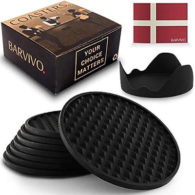 BARVIVO Drink Coasters - New Design - Parent