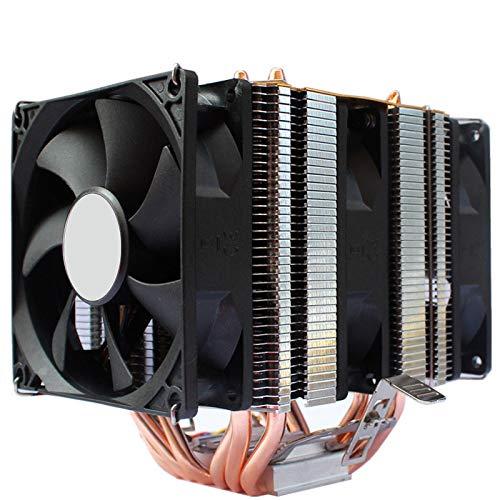 lizeyu 6 tubo de cobre CPU radiador ultra silencioso 1155AMD1150 1151 ventilador de la CPU del ordenador de escritorio