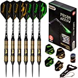 IgnatGames Steel Tip Darts Set - Professional Darts with Stylish Case...