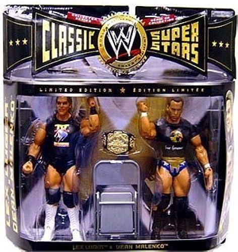 WWE Jakks Pacific Wrestling Classic Superstars Exclusive Series 7 Action Figure 2-Pack Lex Luger and Dean Malenko by Jakks