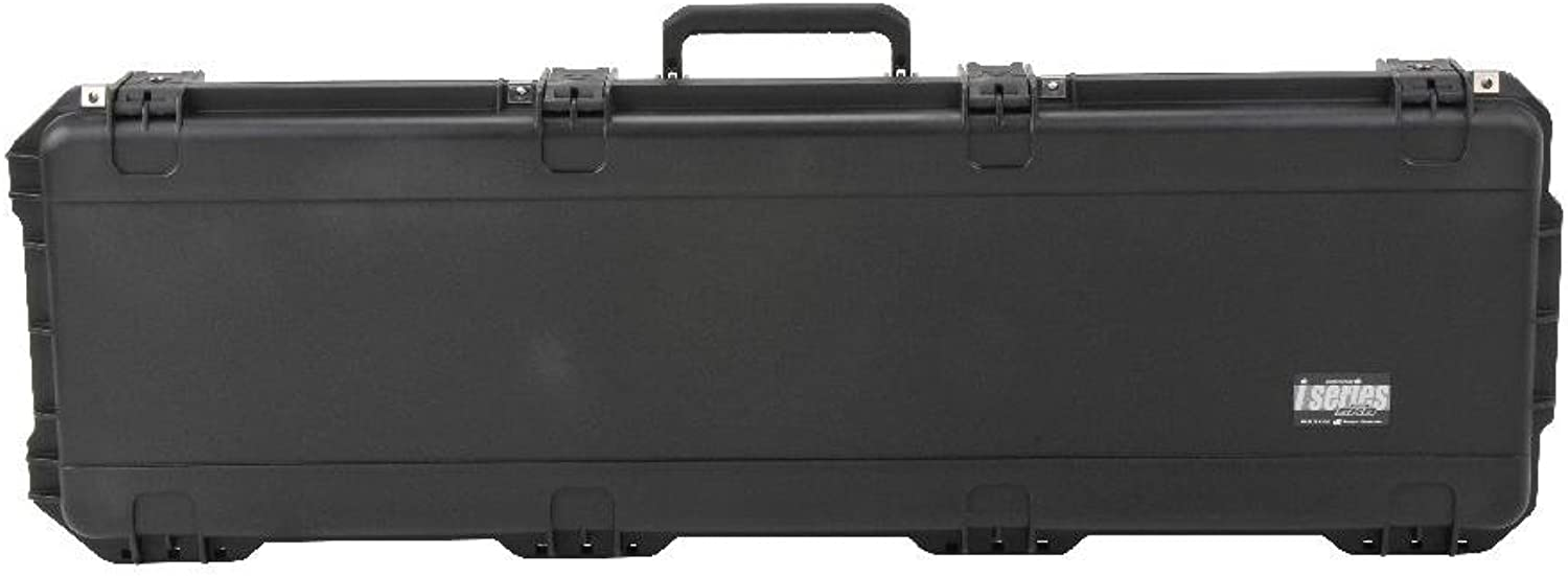 SKB Injection Molded 495-Inch Double Bow Rifle Case (Black)