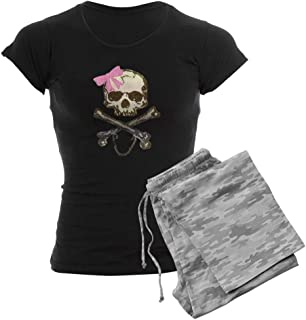 Skull and Crossbones with Pin Women's PJs