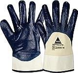 strongAnt GOTHA LITE, guantes de seguridad de nitrilo azul talla 10-12 pares