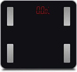 QIXIAOCYB Weighing Scale Bluetooth Body Fat Scales 330Lb Smart Digital Bathroom Scale for Weight Body Composition Analyzer...