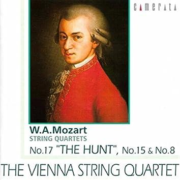 Mozart: String Quartets Nos. 8, 15 & 17