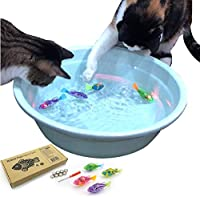 Interactive Swimming Robot Fish Toy for Cat/Dog