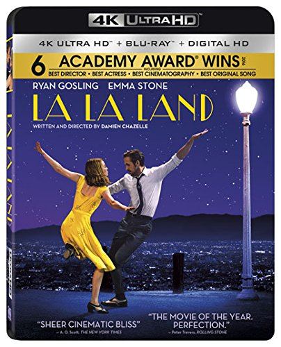 La La Land  4K Ultra HD [Blu-ray + Digital HD]