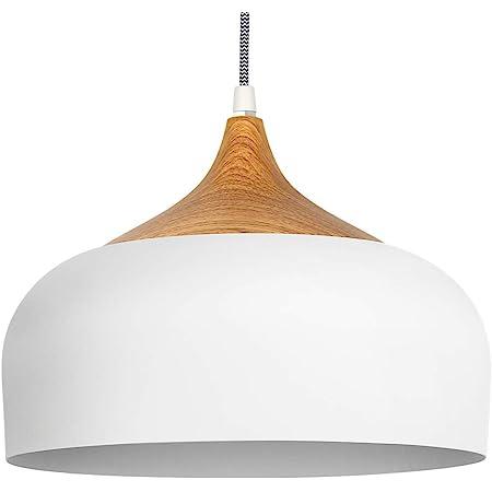 tomons Suspension LED Plafonnier Blanc Scandinave Moderne Style Simple pour Restaurant Salle à manger Restaurant