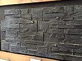 CANU Piedra Natural LAJA Negra. Este Material es una Pizarra Natural premontada en Formato 35x18cm. Solo para Uso Interior. Precio por 1 m2.