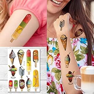 Best ice cream temporary tattoos Reviews
