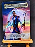 1x FOIL Laminated Teferi who Slows The Sunset Custom Altered GnD Cards