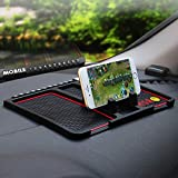 Made of high quality silicone material, low and high temperature resistance, very durable. Comes with parking phone numbers, provide you much more convenience Anti-slip design, hold the mobile phone and other small things firmly. The phone holder sta...
