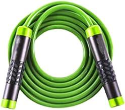 Abaodam Aluminium Handvat Jump Rope Gewogen Adustable Springtouw Voor Vrouwen Mannen (Groen)