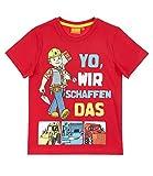 Bob der Baumeister T-Shirt rot  116