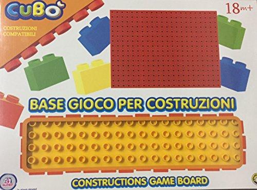 Globo Toys Globo – 34864 25.5 x 35.1 x 0.8 cm Vitamina _ G Plate-Forme de Construction