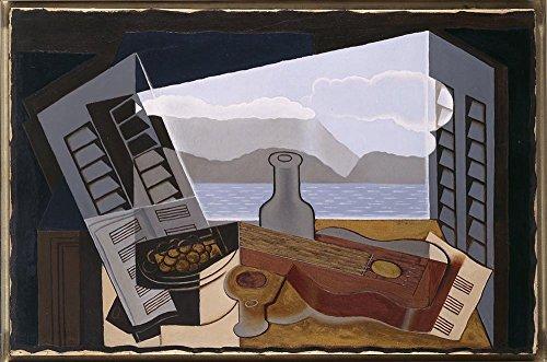 Das Museum Outlet–Juan Gris–Die Offene Fenster–Poster Print Online kaufen (76,2x 101,6cm)