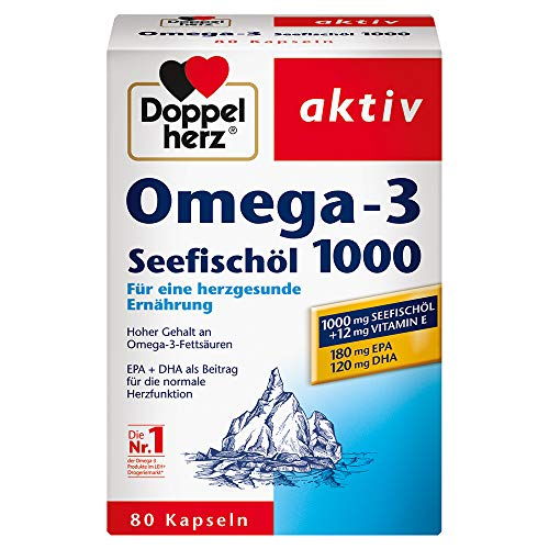 Seefischöl Omega3 (80 Kapseln)