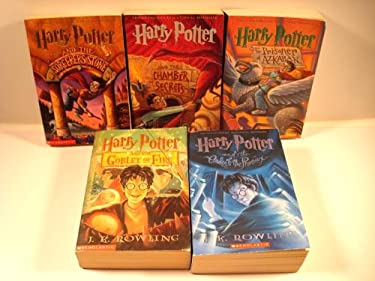 Harry Potter Volumes 1-5 (Harry Potter, The Sorcerers Stone, The Chamber of Secrets, The Prizoner of Azkaban, The Goblet of Fire, The Order of the Phoenix)