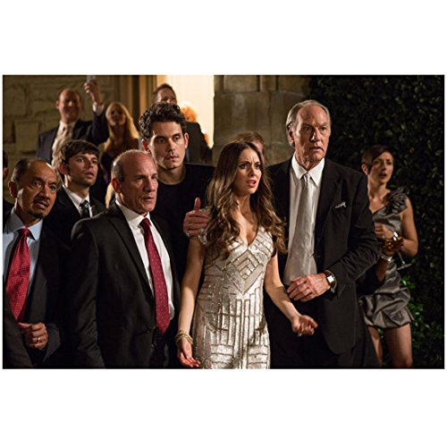 Get Hard (2015) 8 inch by 10 inch PHOTOGRAPH Alison Brie Between Craig T. Nelson & Paul Ben-Victor from Thighs Up kn