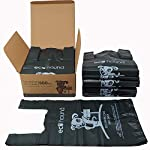 Ecohound 500 Large Thick Premium Quality Dark Green Dog Waste Bags With Easy Tie Handles, Thick Strong Leak Proof 17… 3