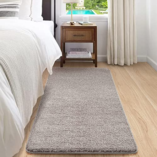 Color&Geometry Alfombras y Moquetas Larga,Alfombra Moderna Rectangular para Salon Dormitorio Recibidor Pasillo Habitación Grande Alfombrillas Interior(Beige, 90 cm x 150 cm)