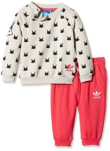 adidas adidas Baby Trainingsanzug Magic Forest French Terry, Mist Stone F15-St, 92