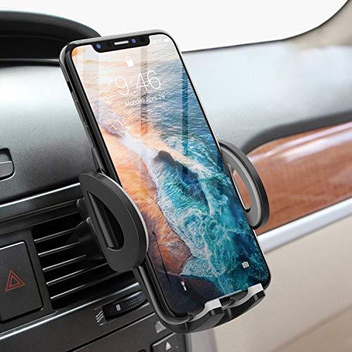 Avolare Handyhalterung Auto Handyhalter fürs Auto Lüftung Universal Handy KFZ Halterungen für iPhone Samsung Huawei Sony LG & mehere Smartphone oder GPS-Gerät(Grau)