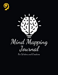 Mind Mapping Journal: For Writers and Creatives | Mind Mapping Workbook | Mind Map Templates for Improved Memory and Effec...