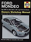 [Ford Mondeo Petrol & Diesel Service and Repair Manual: 2007-2012] (By: John S. Mead) [published: July, 2012]
