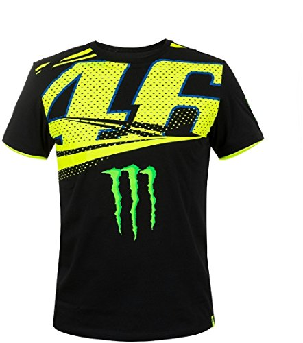 Valentino Rossi VR46 Moto GP Monster Energy Monza Rally T-shirt Offiziell 2018, 3XL
