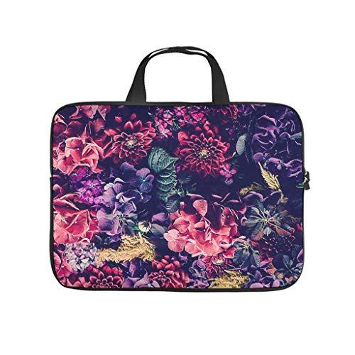 Flora, borsa per computer portatile, resistente ai graffi e ai graffi, elegante borsa per notebook per università, lavoro e lavoro