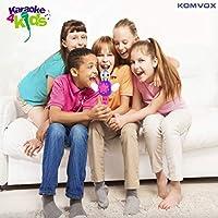 Karaoke Microfono Cambia Voce per Bambini, Senza Fili Microfono Registrazione Ricaricabile Strumenti Musicali per bambina, Compleanno Giochi da Tavolo, Regalo Bimba 3 4 5 6 Anni Gioco Educativi #6