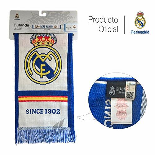 Real Madrid C.F. Bufanda DE Producto Oficial Real Madrid (EL Mejor Club del Mundo)