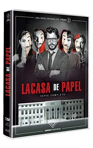 Money Heist - (Complete Series 1-2) - 5-DVD Boxset ( La Casa de Papel ) [ Origine Espagnole, Sans Langue Francaise ]