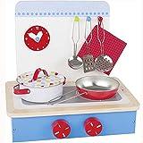 goki–8651852–Küche–-Modell Tisch–9-teilig–30x 23x 28cm