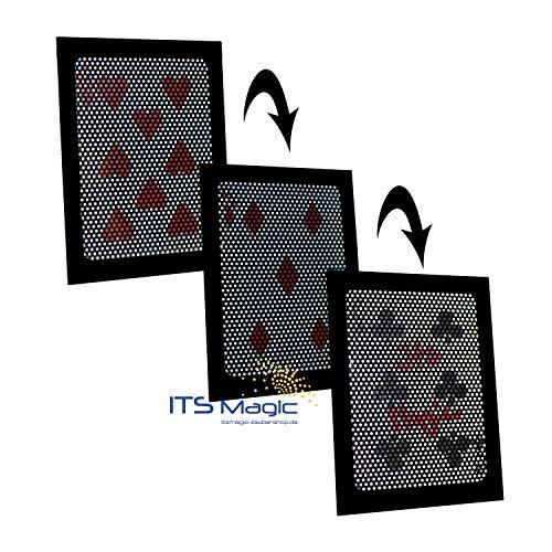 The Ultimate Wow - Bicycle Kartentrick mit Doppeltem Verwandlungs-Effekt | Mega Magic Card Zaubertrick inkl. Karten | Visuelle Magie mit Zauber-Karten | Zaubern Lernen, Zaubertricks und Zauberartikel