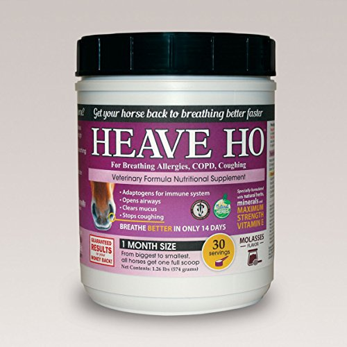 Equine Medical and Surgical Heave Ho 30 Day Molasses 30S