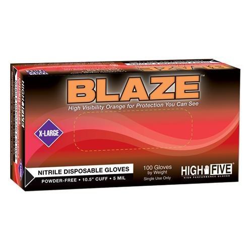 Blaze PF Nitrile EXAM Glove Large