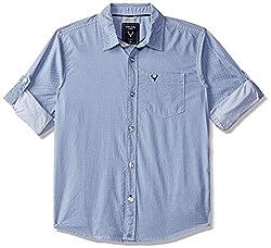 Allen Solly Boys  Polka Dot Regular Fit Shirt
