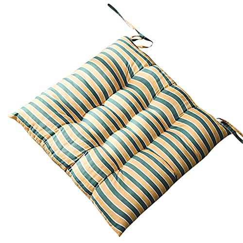 Riverry - Cuscino per seduta in schiuma imbottita, con fibbie a lunghezza intera per un sostegno antiscivolo, confortevole e morbido, resistente
