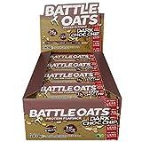 Battle Oats High Protein Flapjack, 12 x 70 g Protein Bars - Dark Choc Chip
