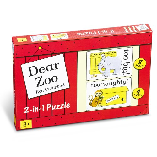 Dear Zoo 2 In 1 Puzzle