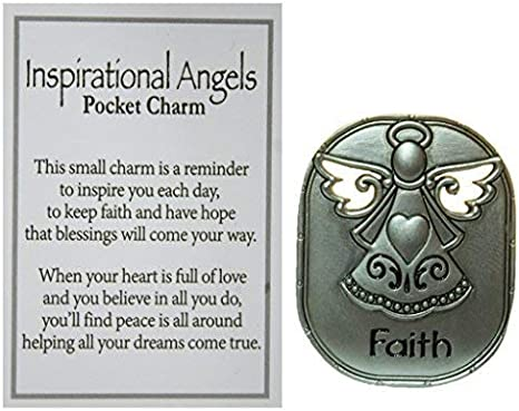 Ganz A Daily Prayer Blessing Charm Pocket Token with Story Card