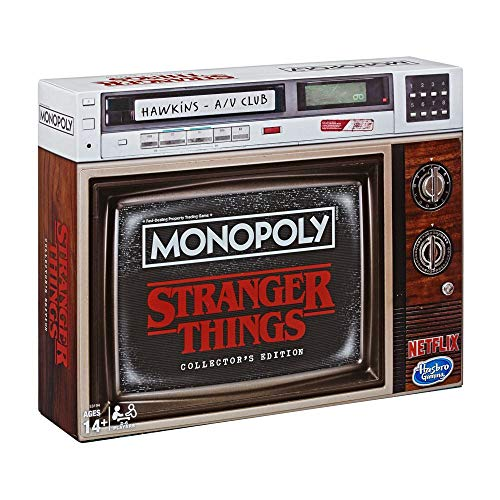 Hasbro- Stranger Things: Monopoly Edición de coleccionista