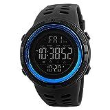SKMEI Digital Black Dial Men's Watch-1251 Blue