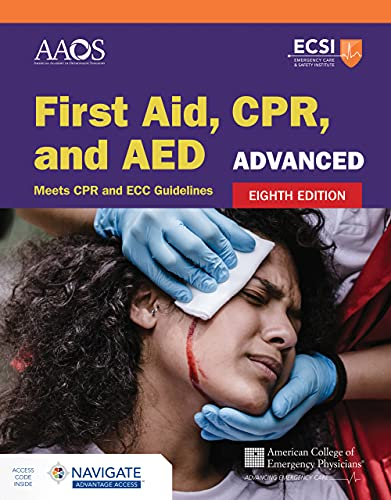 Compare Textbook Prices for Advanced First Aid, CPR, and AED 8 Edition ISBN 9781284234367 by AAOS